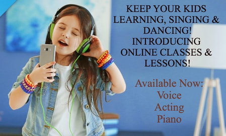 Picture                   KEEP YOUR KIDS  LEARNING, SINGING & DANCING! INTRODUCING  ​ONLINE CLASSES & LESSONS!